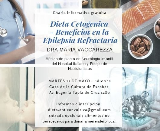 Dieta Cetogénica. Beneficios en la Epilepsia Refractaria