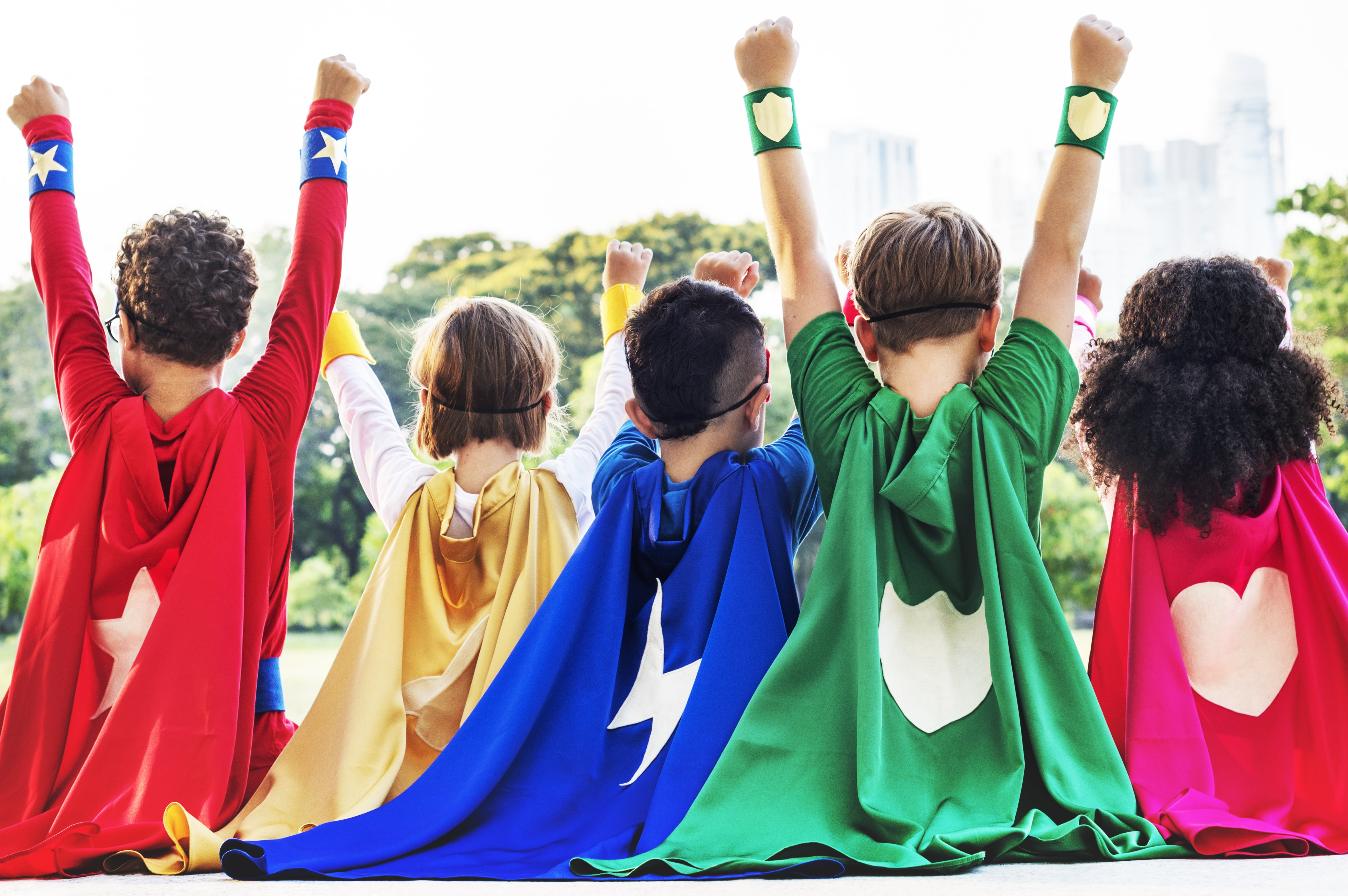 niños superheroes Glut1 Dieta Cetogénica asGLUTdiece