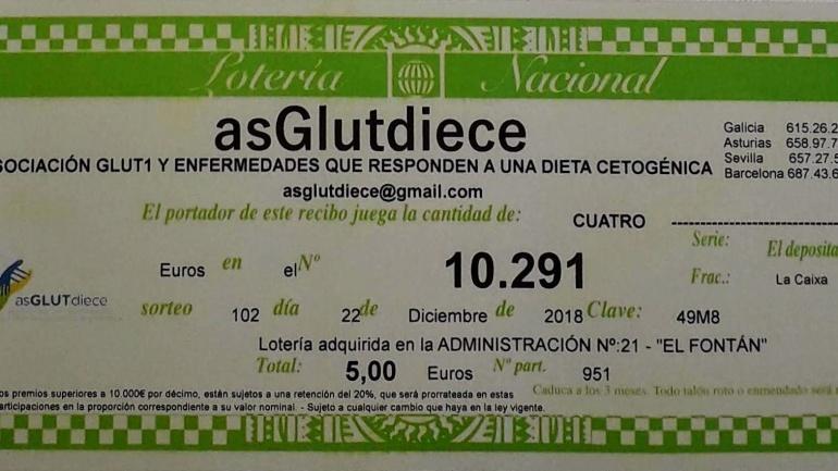 Loteria Nacional y asGLUTdiece