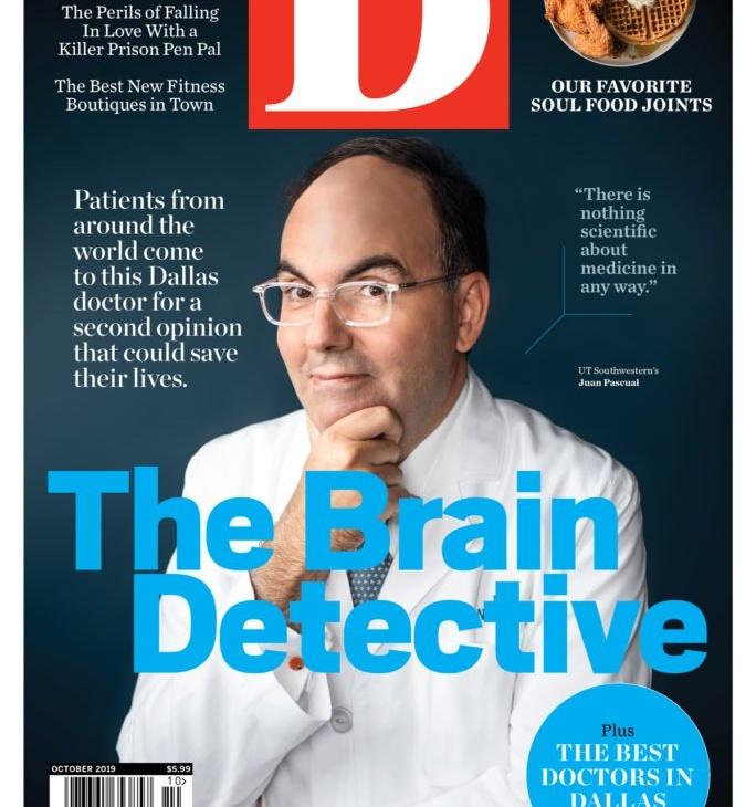 Dr. Juan Pascual, el detective del cerebro.