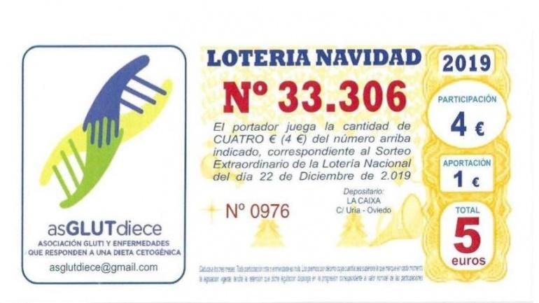 Loteria Navidad 2019 y asGLUTdiece