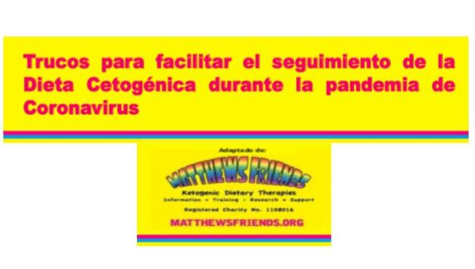 Dieta Cetogénica durante la pandemia del coronavirus