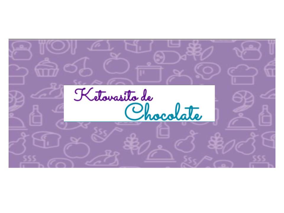 Ketovasito de chocolate para Dieta Cetogénica
