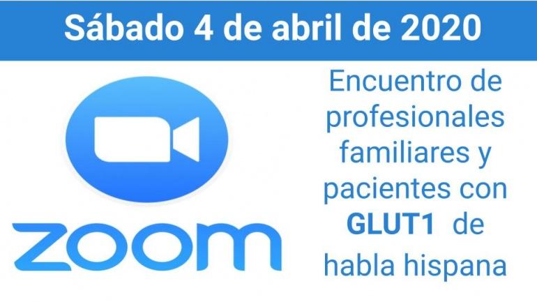 ZOOM para familiares y pacientes con Glut1 de habla hispana.