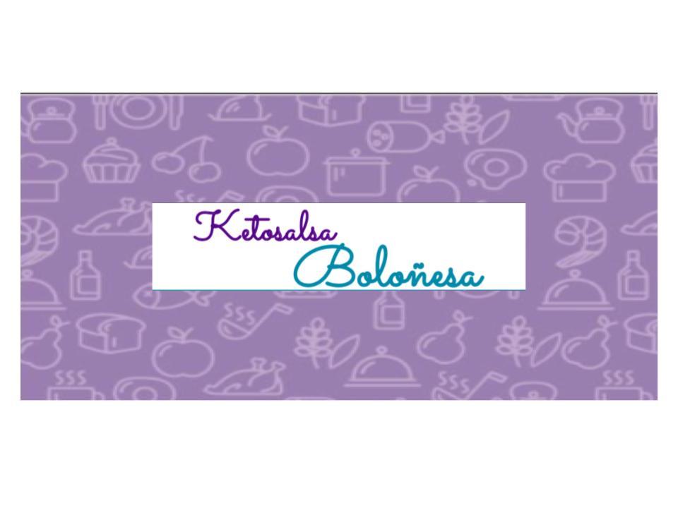 Ketosalsa Boloñesa