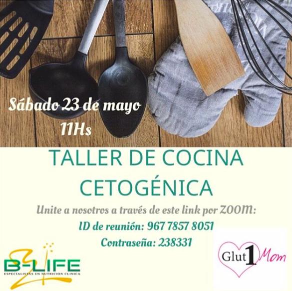 ZOOM «Taller de Cocina Cetogénica»