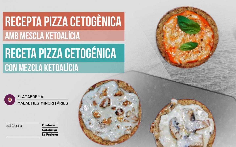 Receta pizza cetogénica