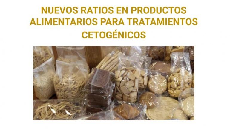 Actualización de ratios en productos para Dieta Cetogénica