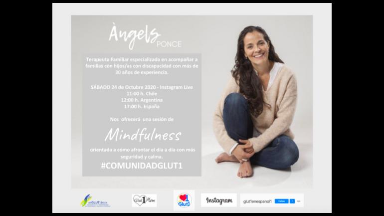 MINDFULNESS con ÀNGELS PONCE para la COMUNIDAD GLUT-1