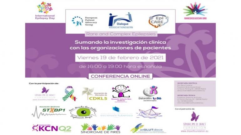 Conferencia online sobre epilepsias raras y complejas
