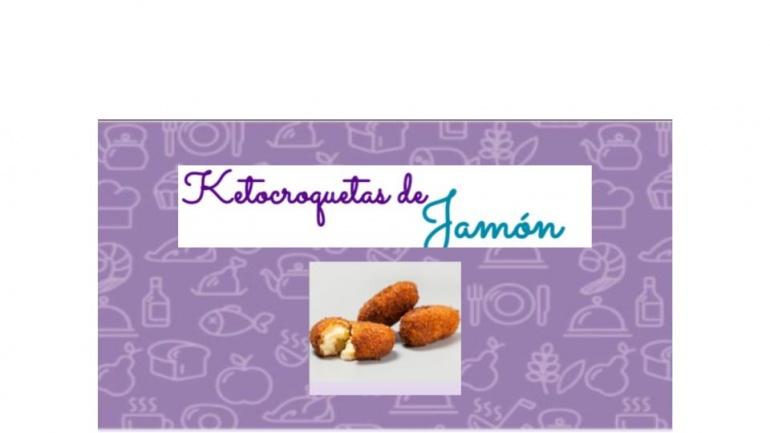 Ketocroquetas de jamón