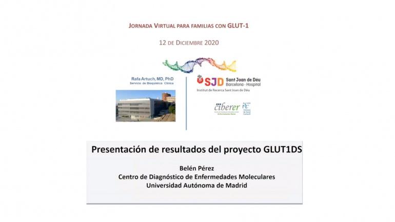 Webinar Glut1 2020.  Dr. Rafael Artuch y Dra. Belén Pérez.