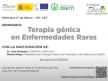 Seminario CIBERER: Terapia Génica en Enfermedades Raras
