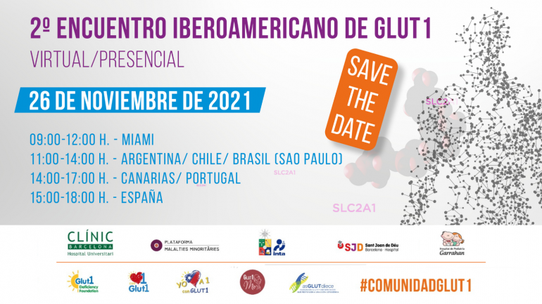 SAVE THE DATE  GLUT1 2021